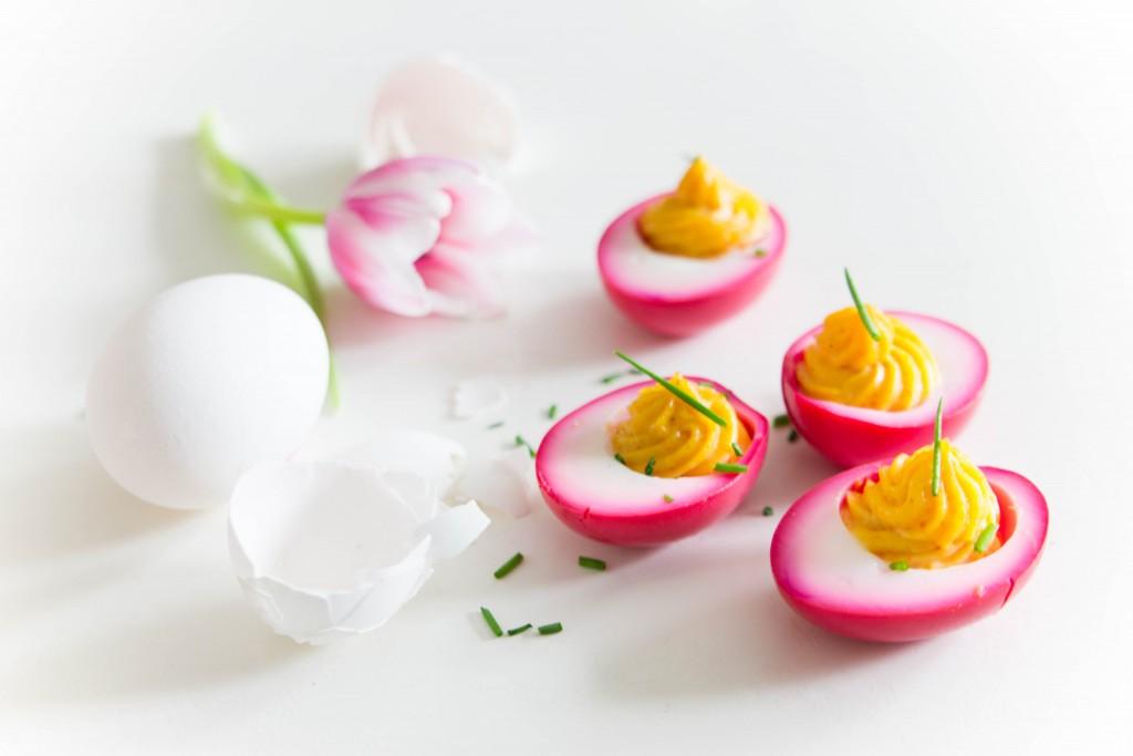 roze eitjes