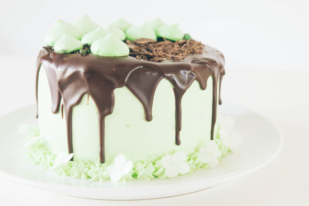 chocolate chip mint cake